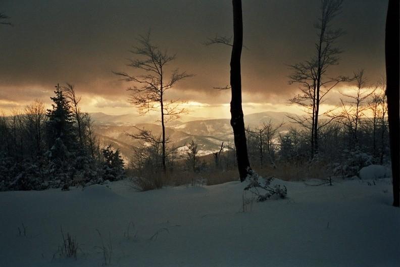 02-0468  11 -- Widok z okolic Stołowa na południowy zachód