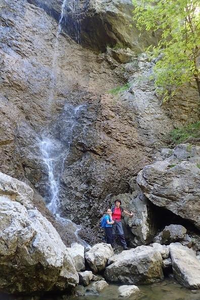 11-P5280112 -- Odbiliśmy w boczną ścieżkę, by obejrzeć wodospad Červené piesky