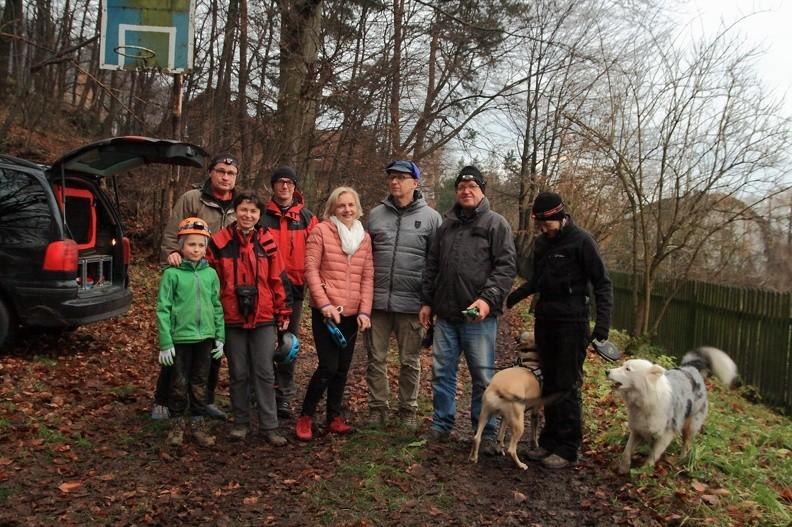 80-IMG 0274 -- Od lewej: Mikołaj, Andreas, Ines, Paweł, Ludmiła, Jerzy G., Jerzy P., Flavi, Beata i Béke